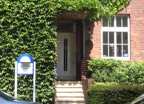Außenansicht der Zahnarztpraxis Dr. Witteler & Steinker in Münster